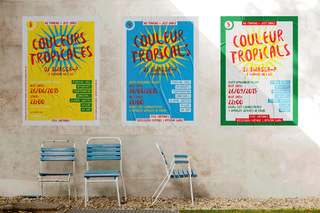 Plakatserie | DJ Swagga-P – Couleurs Tropicales (Kigali, Ruanda) > Art Direction, Grafikdesign | 2016