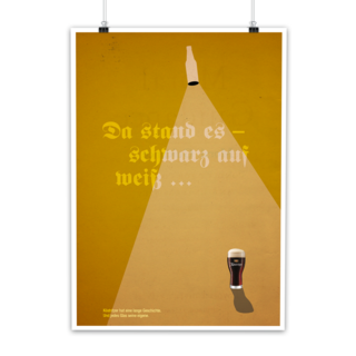 Kneipenposter (inoffiziell) | Köstritzer > Art Direction, Grafikdesign, Text | 2017